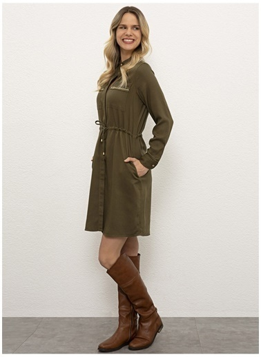U.S. Polo Assn. Elbise Haki